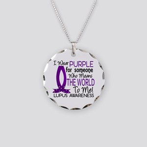 Means World To Me 1 Lupus Shirts Necklace Circle C