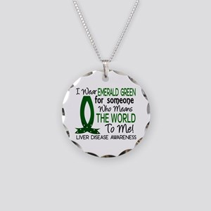 Means World To Me 1 Liver Disease Shirts Necklace