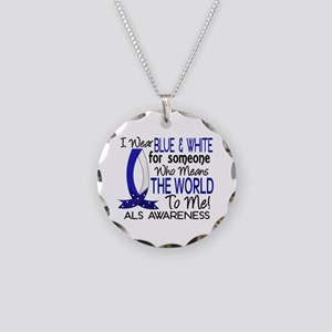 Means World To Me 1 ALS Shirts Necklace Circle Cha
