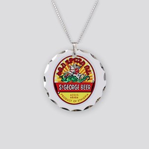 Ethiopia Beer Label 4 Necklace Circle Charm