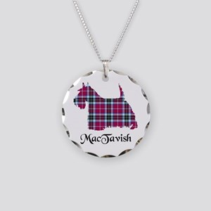 Terrier-MacTavish Necklace Circle Charm