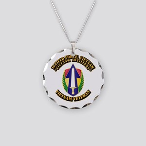 Army - II Field Force, Vietnam Necklace Circle Cha