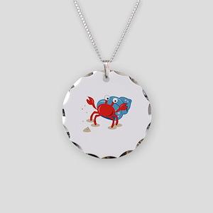 Dancing Crab Necklace