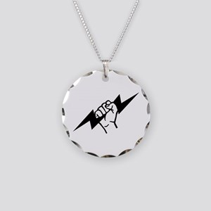 Flash Electrician Necklace Circle Charm