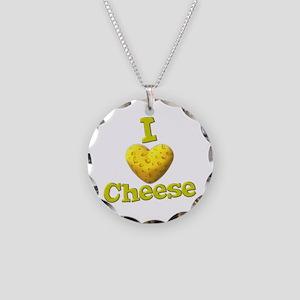 funny cute i heart love cheese cheesey heart Neckl