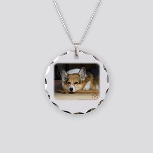Welsh Corgi Pembroke 9R022-030_2 Necklace Circle C