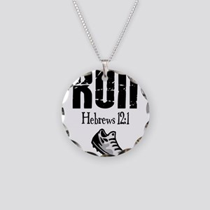 run hebrews Necklace