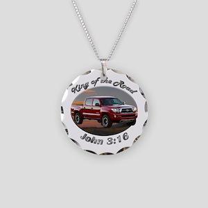 Toyota Tacoma Necklace Circle Charm