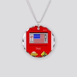 The Plutocracy in America Necklace
