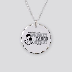 Aviation Necklace Circle Charm