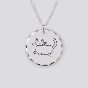 Kind Hearted Woman Necklace Circle Charm