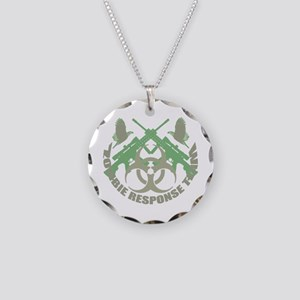 Zombie Response Team g Necklace Circle Charm