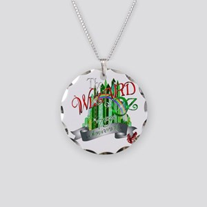 Wizard of OZ 75th Anniversar Necklace Circle Charm