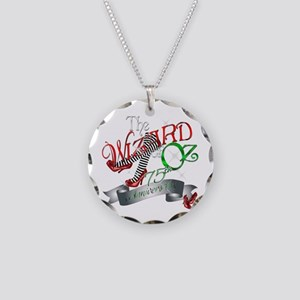 75th Anniversary Wizard of Oz Red Shoes Necklace C