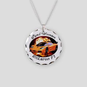 McLaren F1 Necklace Circle Charm