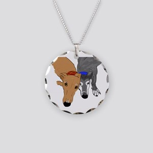 Drawn Together Necklace Circle Charm