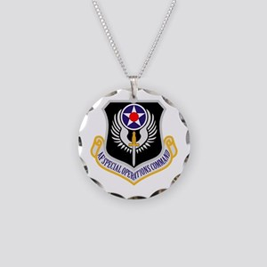 AF Spec Ops Command Necklace Circle Charm