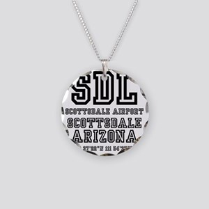 AIRPORT JETPORT  CODES - SDL Necklace Circle Charm