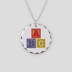 ABC Blocks Necklace