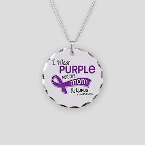 I Wear Purple 42 Lupus Necklace Circle Charm