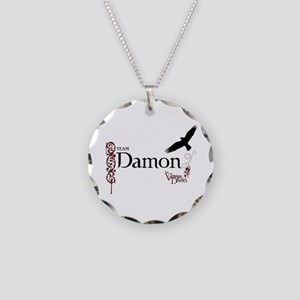 THE VAMPIRE DIARIES Damon & Raven Necklace Circle