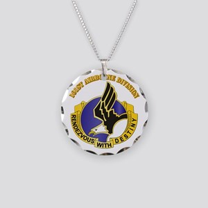 DUI - 101st Airborne Division with Text Necklace C