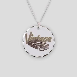 Vintage Car Necklace
