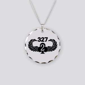 2-327 (2 of Clubs-1) Necklace Circle Charm