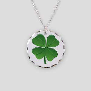 St Patrick Shamrock T Necklace