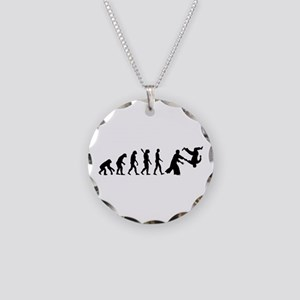 Evolution Aikido Necklace Circle Charm