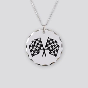 Chequered Flags Necklace