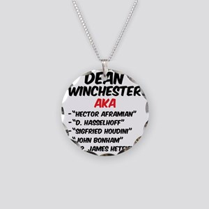 AKA_DEANWINCHESTERcp Necklace Circle Charm
