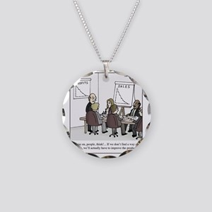 Improve the product Necklace Circle Charm