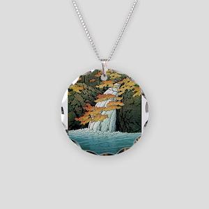 Senju Waterfall, Akame - Kaw Necklace Circle Charm