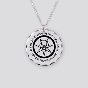 Mark of the Beast Necklace (black/white)