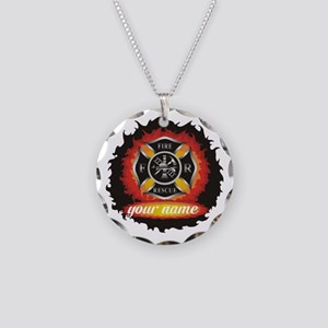 Personalized Fire and Rescue Necklace