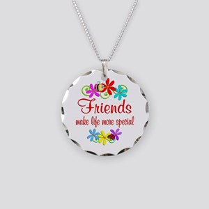 Special Friend Necklace Circle Charm