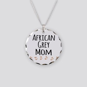 African Grey Mom Necklace