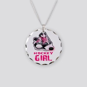 hockey girl Necklace