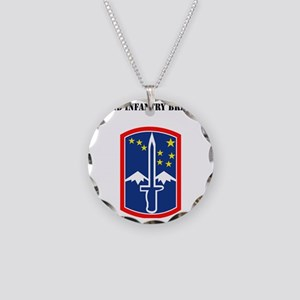 SSI - 172nd Infantry Brigade Necklace Circle Charm