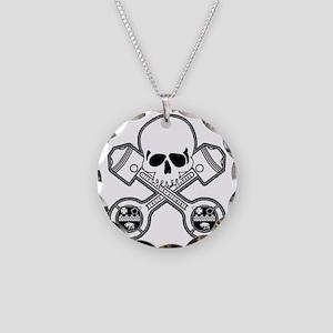 SKULL - MC - 17th Necklace Circle Charm