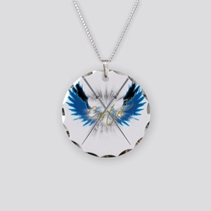 Supernatural Castiel Angel S Necklace Circle Charm