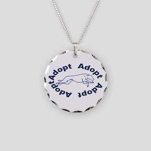 Adopt V2.0 Blue Necklace Circle Charm