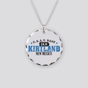 Kirtland Air Force Base Necklace Circle Charm