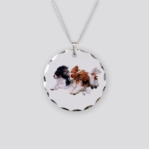 Lily & Rosie, Running Necklace Circle Charm