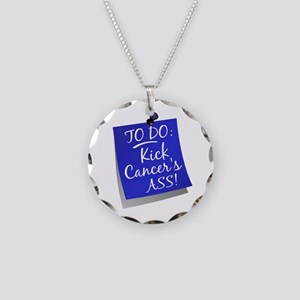 To Do 1 Colon Cancer Necklace Circle Charm