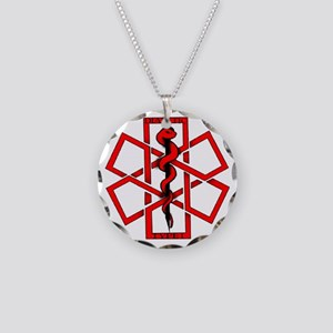 Type 1 Diabetic Necklace Circle Charm