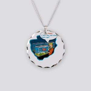 LTR - Left The Fish Store Ho Necklace Circle Charm