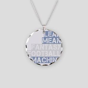 lean mean ff machine_dark Necklace Circle Charm