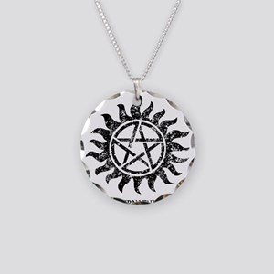 SUPERNATURAL Grunge Tattoo bl Necklace Circle Char